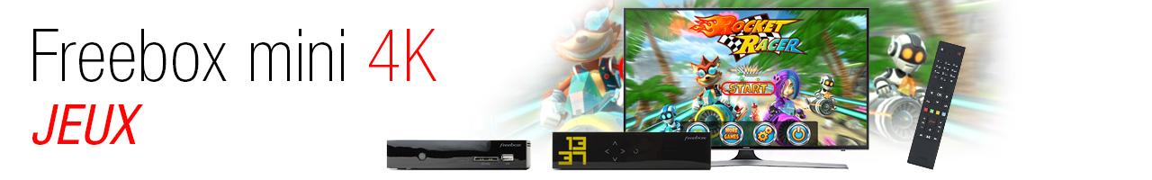Jeux Freebox Mini 4K